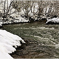 Snowy Mountain River by Steve McKinzie