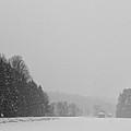 Snowy New England Countryside by Stephanie McDowell