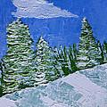 Snowy Pines by Heidi Smith