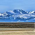 Snowy Rockies by Heather Applegate