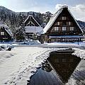 Snowy Village by Kean Poh Chua