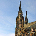 Soaring Spires Saint Vitus' Cathedral Prague by Christine Till