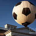 Soccer Ball Over Long Branch by Susan Isakson