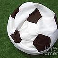 Soccer Ball Seat Cushion by Matthias Hauser