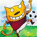 Soccer Cat 2 by Scott Nelson