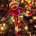 Sock Monkey Is In The Season by Toni Hopper