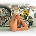 Soft N Sweet Harley Chopper  by Randall Branham