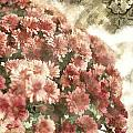 Soft Red Mums by Charrie Shockey