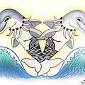 Soga'imiti Dolphins by Kristy Mao