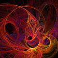 Solar Flares by Ricky Barnard