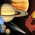 Solar System, Artwork by David Ducros