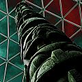 Solarised Totem Pole by Urban Shooters