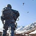 Soldier Patrols Through Alaska's by Stocktrek Images