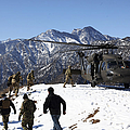 Soldiers Board A U.s. Army Uh-60 Black by Stocktrek Images