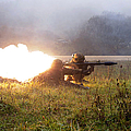 Soldiers Fire A Rocket Propelled by Stocktrek Images