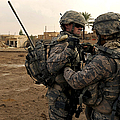 Soldiers Help One Another by Stocktrek Images