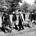 Soldiers March Black And White by LeeAnn McLaneGoetz McLaneGoetzStudioLLCcom