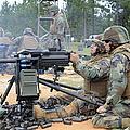Soldiers Operate A Mk-19 Grenade by Stocktrek Images