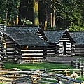 Soldiers Quarters At Valley Forge by Cindy Manero