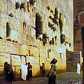 Solomon's Wall  Jerusalem by Pg Reproductions