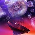 Solving The Universe's Mysteries, Artwork by Detlev Van Ravenswaay
