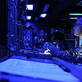 Sonar Technician Stands Watch by Stocktrek Images