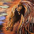 Soul Of Wild Horse by Karen  Ferrand Carroll