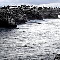 Menorca South Coast In A Stormy Mediterranean Day by Pedro Cardona Llambias