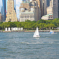 South Ferry Water Ride4 by Terry Wallace
