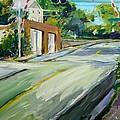 South Main Street Train Crossing by Scott Nelson
