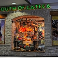 South Of Gate C6 by Paulette B Wright