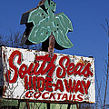South Seas Sign by Garry Gay