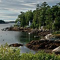 Southport Maine by Lee Fortier