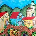 Southwest Village by Connie Valasco