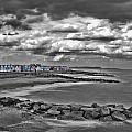 Southwold Beach Huts by Dave Godden