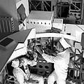 Soviet Almaz Space Station Construction by Ria Novosti