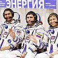 Soyuz Tma-11 Space Crew by Ria Novosti