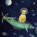 Space Bob by Leah Saulnier The Painting Maniac