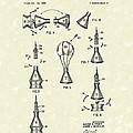 Space Capsule 1961 Patent Art #2 by Prior Art Design