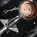 Space Exploration Science-fiction Artwork by Cci Archives