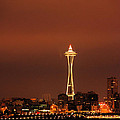 Space Needle Morning by Michael Merry