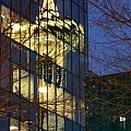 Space Needle Reflection 1 by Cameron Minaglia