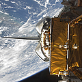 Space Shuttle Atlantis Payload Bay by Stocktrek Images