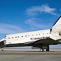Space Shuttle Atlantis by Stocktrek Images