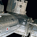 Space Shuttle Discovery And Components by Stocktrek Images