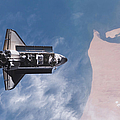Space Shuttle Endeavour by Stocktrek Images
