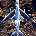 Space Shuttle Piggyback by Paul Van Scott