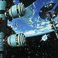 Space Stations by Victor Habbick Visions