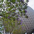 Spaceship Earth  Epcot Center by Judy Wanamaker