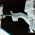 Spacewalk by Science Source/NASA